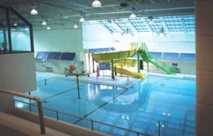 The Michael J. Tully Jr. Park Aquatic Activity Center pool